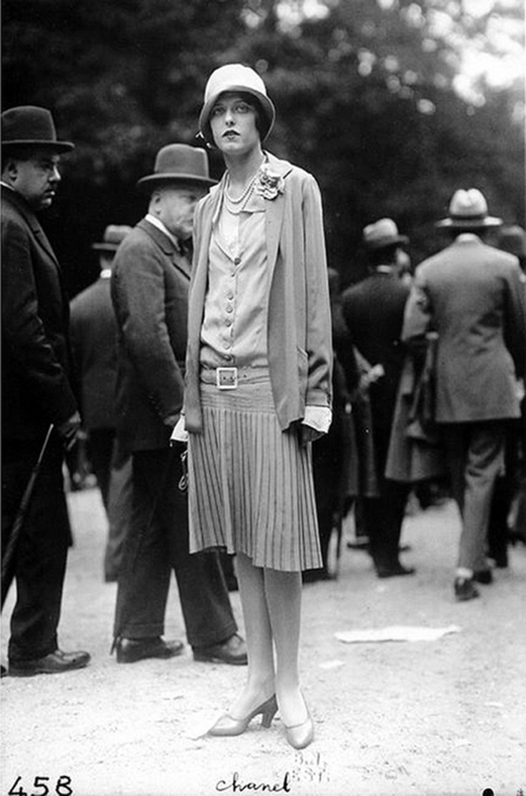 Wearing Chanel at the races by Frères Séeberger 1920's